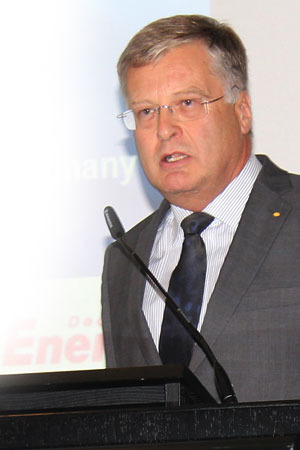 Dr. med. vet. Hans-Joachim Götz, President of the Federal Association of Practising Veterinarians