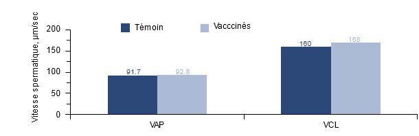 Effet de la vaccination des mâles positifs au PCV2 sur la motilité spermatique