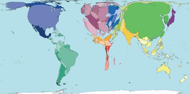 Part de la production mondiale de viande par pays