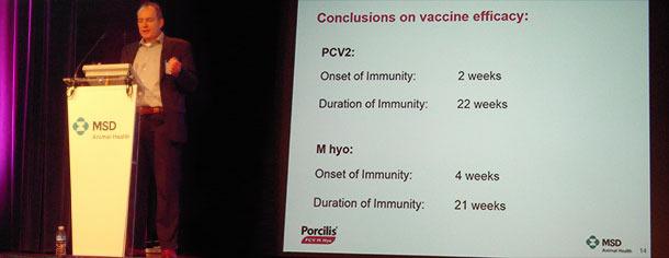 Heiko Nathues a concentré son exposé sur Micoplasma hyopneumoniae
