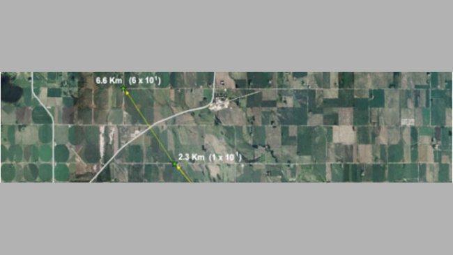Carte aérienne