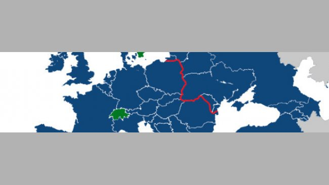 Diversité du SDRPv en Europe