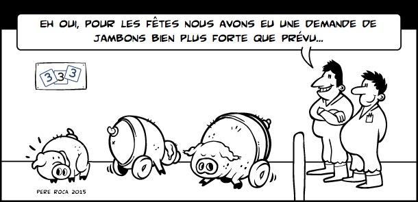 Hausse de la demande de jambons