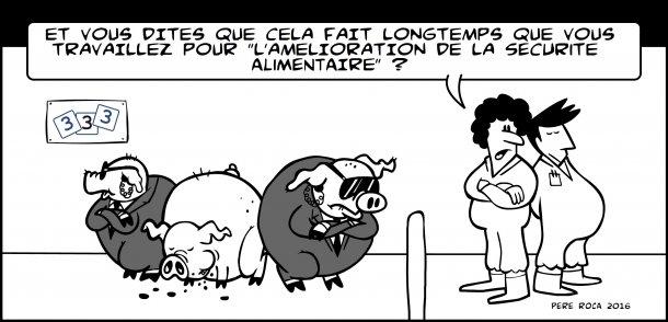Sécurité alimentaire pour le porc