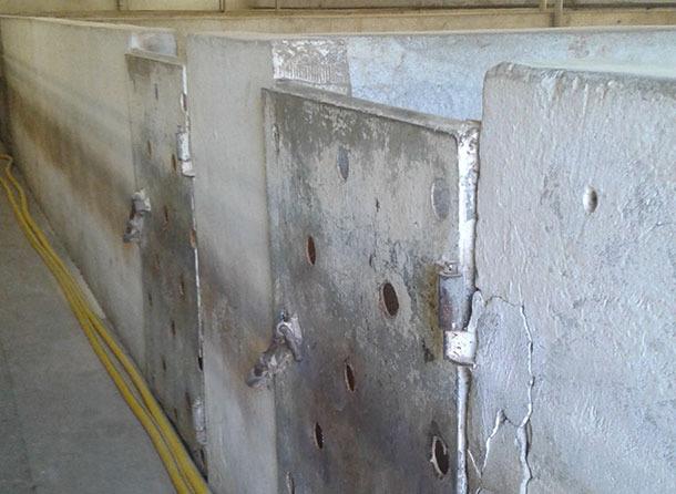Portes ajourées