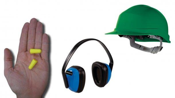 Les bouchons d'oreilles peuvent réduire l'exposition au bruit s'ils sont correctement utilisés. Les casques antibruit peuvent être tout aussi efficaces, voire plus, mais leur port est moins confortable avec une casquette ou un casque.