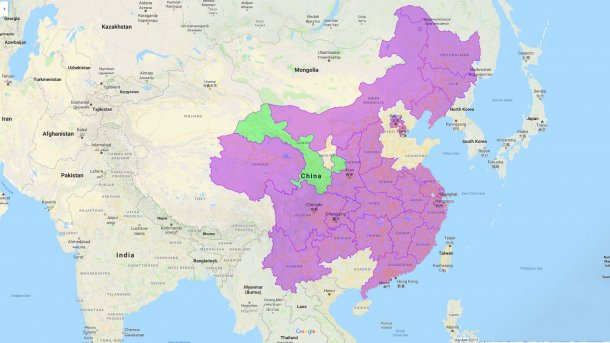 Gansu, nouvelle province affectée par la PPA.