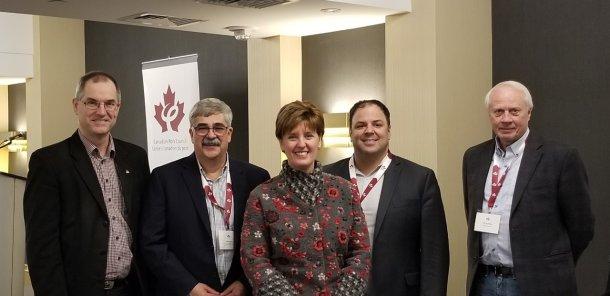La ministre Bibeau a participé à la réunion du printemps du Conseil canadien du porc où elle a rencontré des producteurs de partout au Canada.