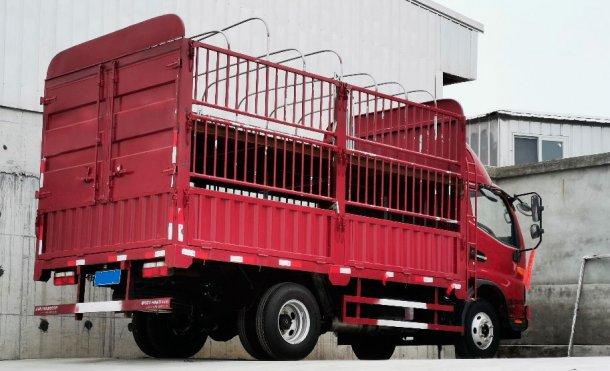 Image 2. Camion interne pour le déplacement d'un petit nombre d'animaux. Avec l'aimable autorisation de DanAg Group, Chine.